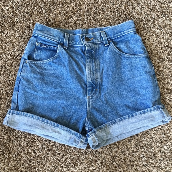 Lee Pants - High Waisted Shorts